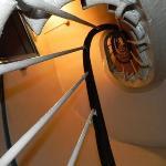 Escalera para los 5 pisos