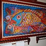 Painting in Fish Bedroom