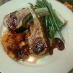 lamb chops at Sister restaurant Five Loaves Cafe