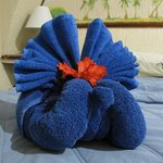 new towel sculptures every day