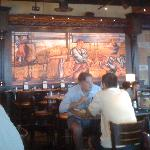 Photo of Mural in Bar Seating area
