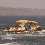 """Von Norden kommend das """"Stadttor"""" von 'Antofagasta"""