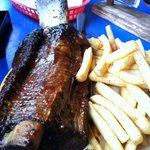 The famous Beef Ribs...BBQ heaven