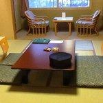 Tatami room floor