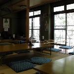 2階の食事処(兼休憩所)