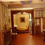 stanza e letto di napoleone