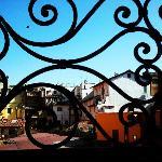 Dalla finestra della nostra camera mansardata....
