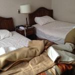 BW Finis Terrae Room 210- bed in corner infested ...