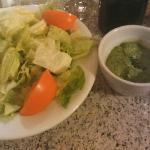 Home made paste herb type dressing. Excellent!