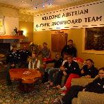 Heffley Boutique Inn - hosts Austrian Olympic Snowboard Team