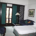 Room was spacious and nice