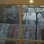 View outside from my room. Not so great.