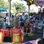 Rides at the EDC Fair