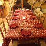 très joli table