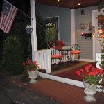 Reception porch