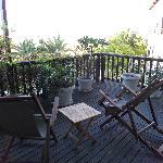 private deck bedroom 7
