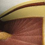 una delle rampe di scale