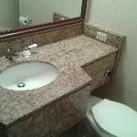 Bathroom configuration