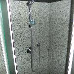 Shower recess