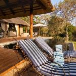 Khaya Ndlovu Manor House - Pool Deck