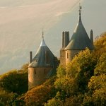Castell Coch's magical setting