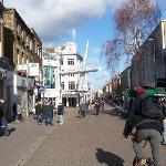 Sutton town centre 10 mins walk from hotel