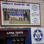 football mural on the shankill