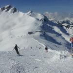 One of the many ski slopes