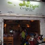 Coriander entrance
