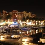 View across the marina from the restaurant