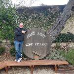 me at Stag's Leap Wine Cellars Feb 2012