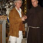 Brother John (Franciscan) keeper of Golgotha and the Holy Sepulcre+I