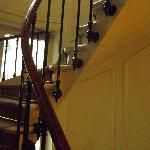 l'escalier pour les sportifs
