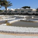 la piscine thermale d'eau ferrugineuse