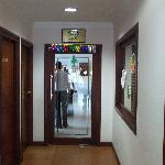 Hallway near lobby