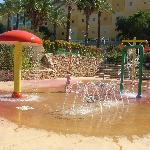 Fountains and water sprays