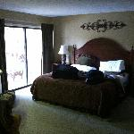 Down Stairs Master Bedroom