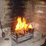 The amazing fireplace