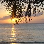 Il tramonto a West Bay