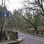 Latourell Falls, Columbia River Hwy, lovely old bridge