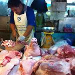 Really interesting things to see at food market
