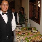 Refrigerios y alimentos en los eventos