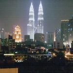 Petronas Towers from my room at Citris Hotel