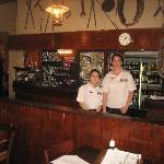 The knowledable and friendly waitresses