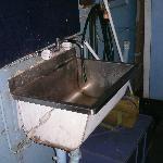 sink next to bathroom