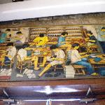 Shoemaking as seen by an artist
