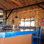 The bar at Mom's