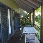 Bali Villa deck