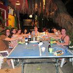 Hostel dinner