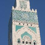minaret of hassan ii mosque